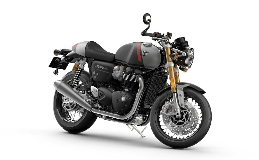 The Triumph Thruxton RS will sit at the top of the Triumph cafe racer family