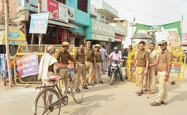 Ahead of Ayodhya Verdict, Multi-Layered Security Arrangements In UP