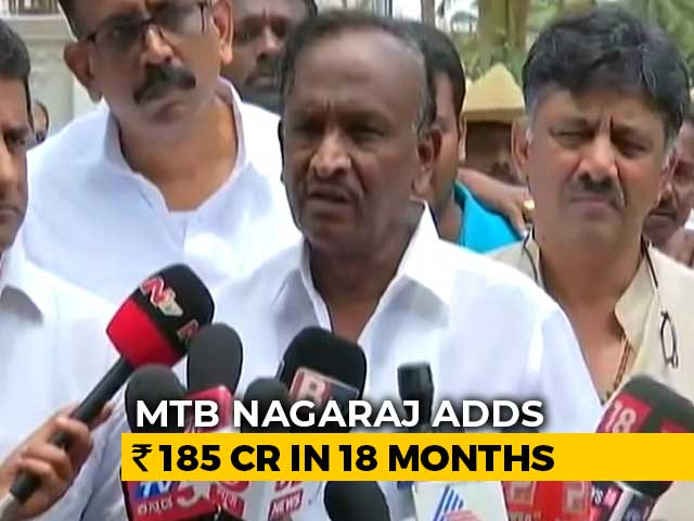 Video : Karnataka MLA Rakes In Crores After Ditching Congress, Opposition Furious