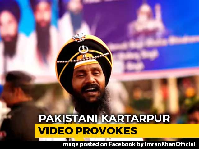 Video : Pakistan Kartarpur Video Shows Poster Of Killed Khalistani Separatists