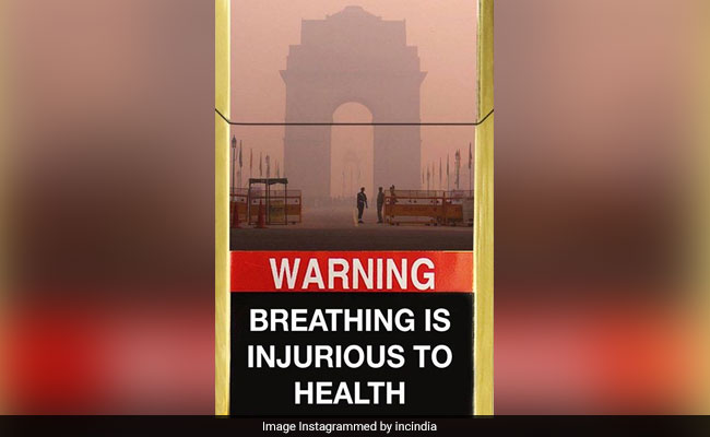 These Posts Sum Up Delhi's Pollution Problem Perfectly