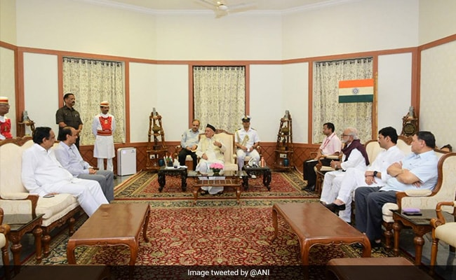 Maharashtra Government Formation Live Updates: Maharashtra Governor Meets NCP Leaders, Grants 24 Hours To Stake Claim