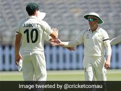 Australia, Pakistan Players Wear Black Armbands To Condole Death Of Naseem Shah