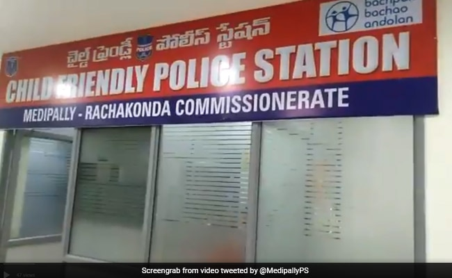 7-Year-Old Inaugurates Telangana's First 'Child-Friendly' Police Station