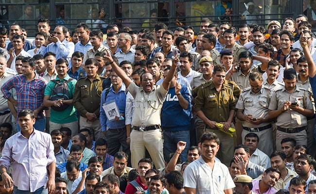 Demands Will Be Fulfiled, No Action Over Protesting, Delhi Policemen Told
