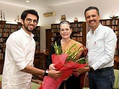 "Gandhis Skip Uddhav Thackeray's Oath,  Wish Him ""Very Best"" In Letters"