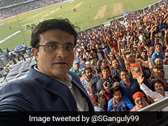 "India vs Bangladesh, Day-Night Test: Sourav Ganguly Captures ""Tremendous Atmosphere At Eden For The Pink Test"""
