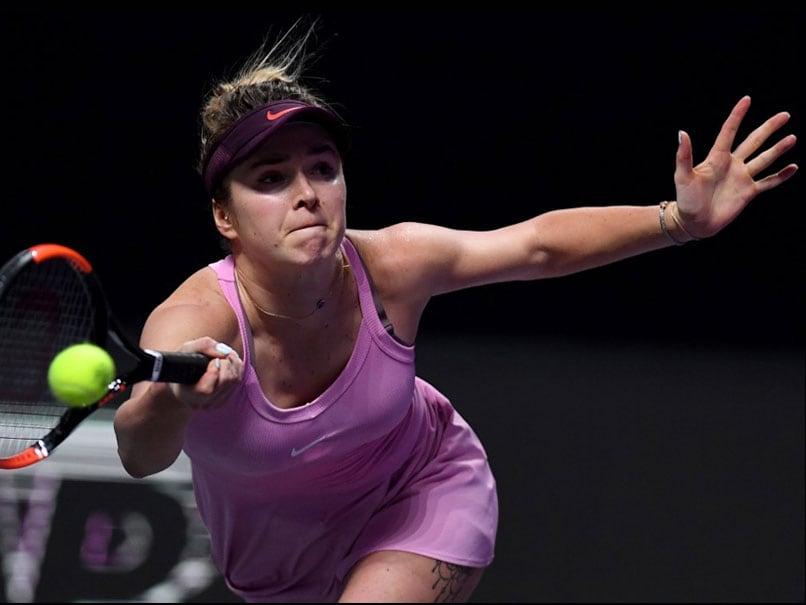 WTA Finals: Elina Svitolina And Karolina Pliskova Through To Semis