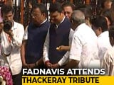 Video : Devendra Fadnavis At Bal Thackeray Memorial Event Amid BJP-Sena Rift