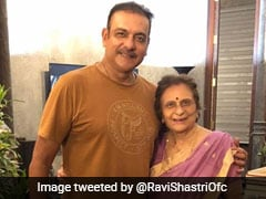 "Ravi Shastri Posts A Heartwarming Message For His ""Biggest Critic And Inspiration"" On Her Birthday"