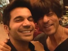 Shah Rukh Khan And His 'Biggest Fan' Rajkummar Rao Nailed This <i>Stree</i> Dialogue Together