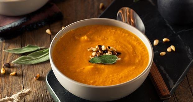 कैरेट जिंजर सूप