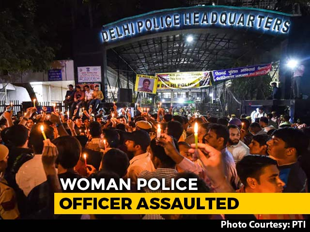Video : After Audio Clip Alleging Assault On Woman Officer, Delhi Police Act