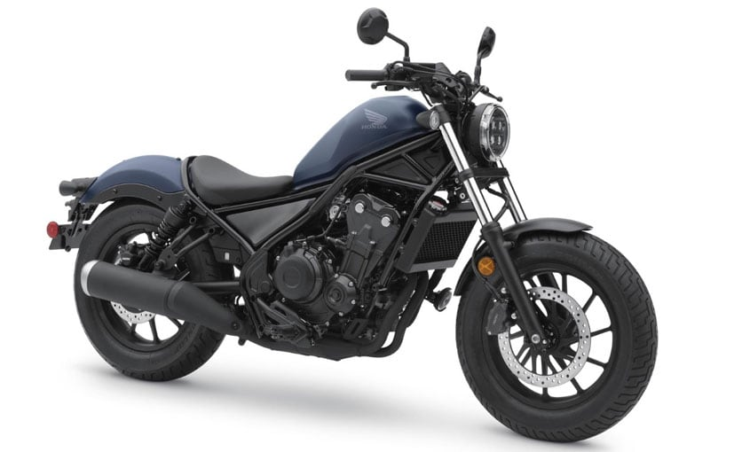The 2020 Honda Rebel 500 has received cosmetic and tech updates.