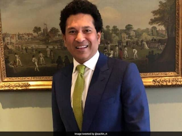 Navy Day: Sachin Tendulkar Wishes Personnel On Navy Day, Thanks Them For Service To Nation