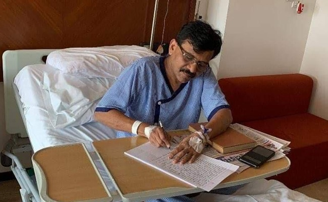 'Those Who Try...': Sanjay Raut, In Hospital, Tweets Famous Hindi Poem