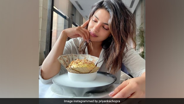 Priyanka Chopra Jonas Indulges In Delhi's Famous 'Daulat Ki Chaat' (See Pics Inside)