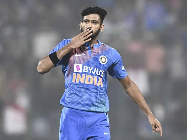 Khaleel Ahmed Ruled Out Of India As Tour Of New Zealand With Injury