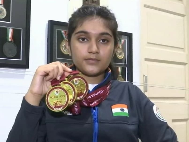 Esha Singh Sets Sights On 2022 Youth Olympics After Winning Three Gold Medals At Asian Shooting Championship