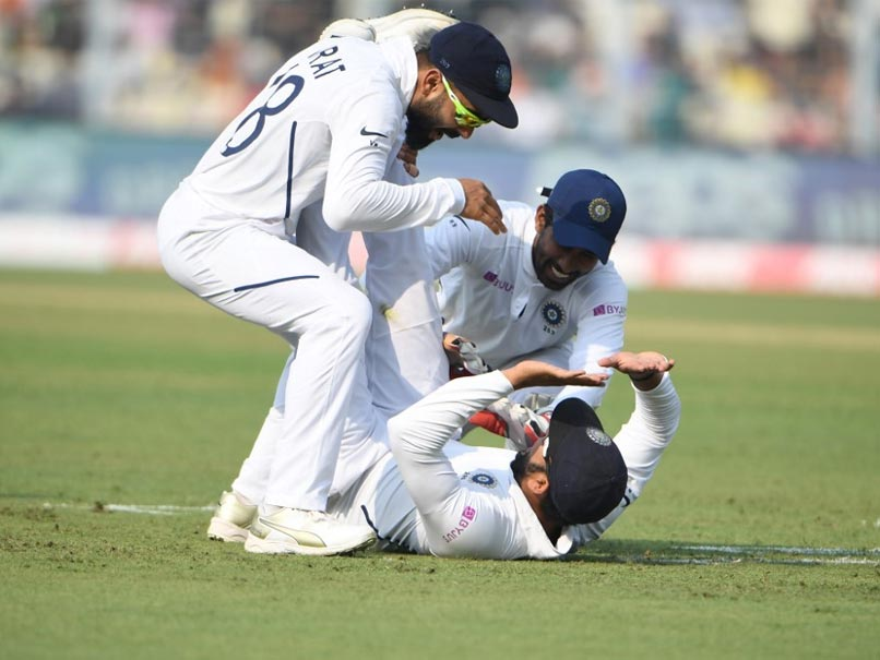 "India vs Bangladesh: Rohit Sharma Takes An Insane Slip Catch, Twitter Bows Down To ""Superhero"""