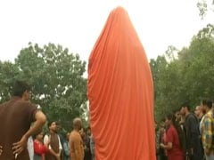 Swami Vivekananda Statue At JNU Vandalised With Derogatory Messages