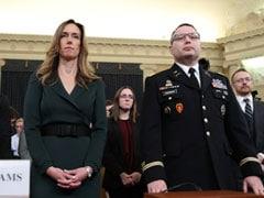 "Trump's Ukraine Plan ""Element Of Shock"": White House Official Testifies"