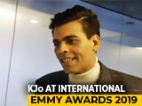 Video : Whether We Win Or Lose We Will Party: Karan Johar At International Emmys