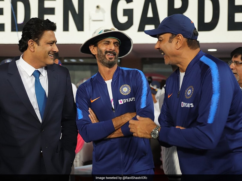 Ravi Shastri shares picture with great Anil Kumble, gets trolled again