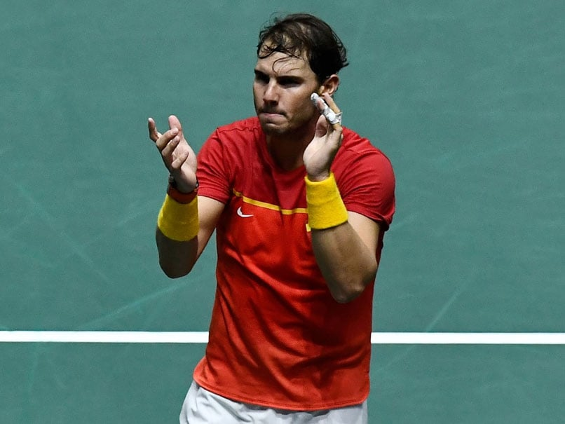 Rafael Nadal Powers Spain To Davis Cup Final Against Canada