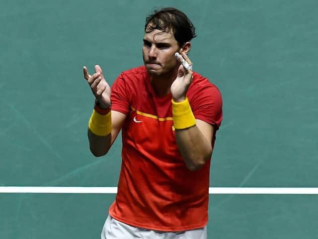 Rafael Nadal Powers Spain To Davis Cup Final Against Canada