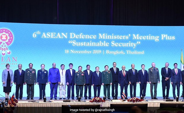 At ASEAN, Rajnath Singh Hits Out At Countries Using Terrorism For Political Gains