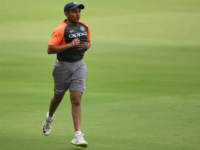 Prithvi Shaw Likely To Return For Syed Mushtaq Ali Trophy After Serving Suspension