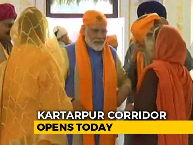 Video : PM Prays At Ber Sahib Gurudwara Ahead Of Kartarpur Inauguration