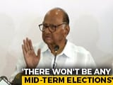 Video : Sena-NCP-Congress Will Form Government, Will Run Full Term: Sharad Pawar