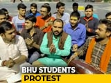 Video : Students On Warpath As BHU Appoints Muslim Teacher For Sanskrit