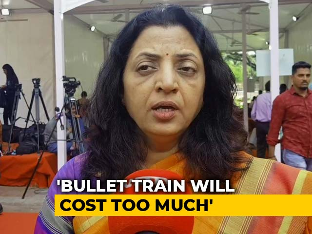 """Video : """"Costs Too Much... Won't Give Results:"""" Sena On PM's Bullet Train Project"""