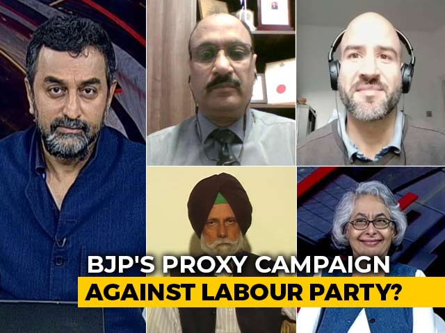 Video : BJP Vs Labour: Foreign Meddling In UK Elections?