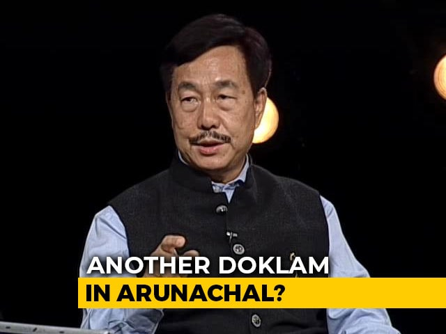 Video : BJP MP: Next Doklam Could Be In Arunachal