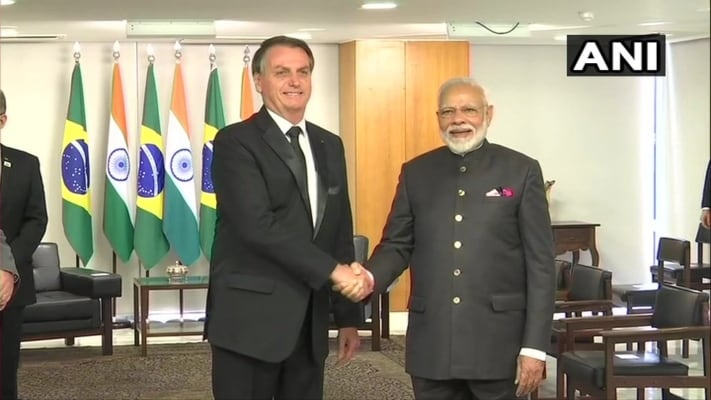 PM Modi Meets Brazilian President Bolsonaro, Holds Bilateral Talks