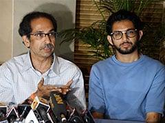Uddhav Thackeray, Aaditya Hold Midnight Talk With Sharad Pawar In Mumbai