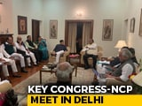 Video : Congress In Separate Meets With Sharad Pawar, Shiv Sena On Maharashtra