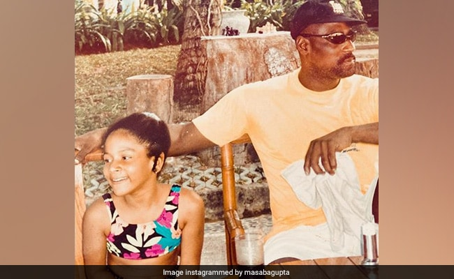 Masaba Gupta's Throwback Pic With Vivian Richards Comes With A Sassy Caption