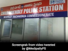 "7-Year-Old Inaugurates Telangana's First ""Child-Friendly"" Police Station"