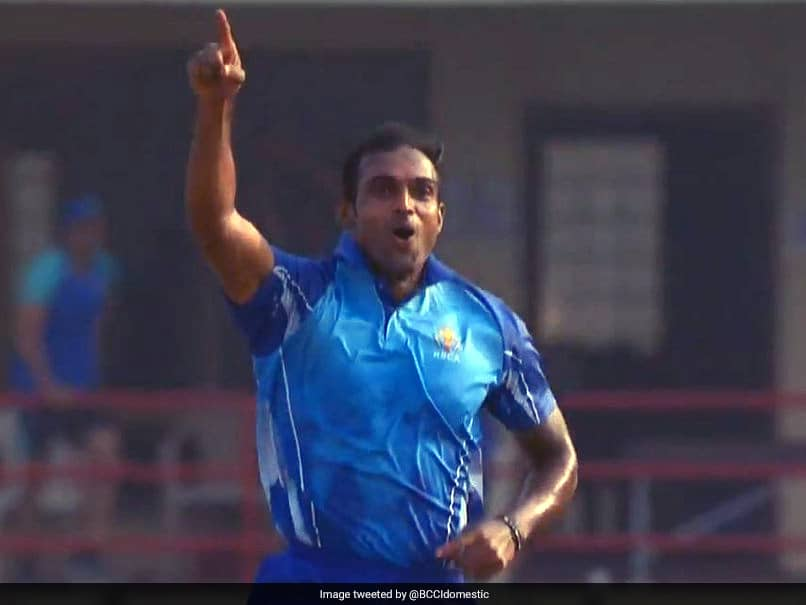 Syed Mushtaq Ali Trophy: Abhimanyu Mithun Takes Five Wickets In An Over