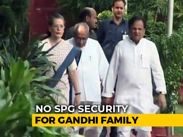 Video : No SPG Security For Gandhi Family, Devendra Fadnavis Resigns And Other Top Stories