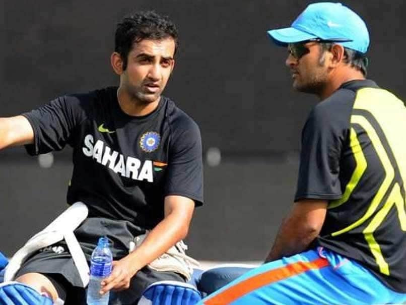 Gautam Gambhir Reveals How MS Dhonis Reminder Led To His Dismissal In 2011 World Cup Final