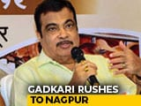 Video : Nitin Gadkari's Sudden Flight To Nagpur As Time Runs Out In Maharashtra