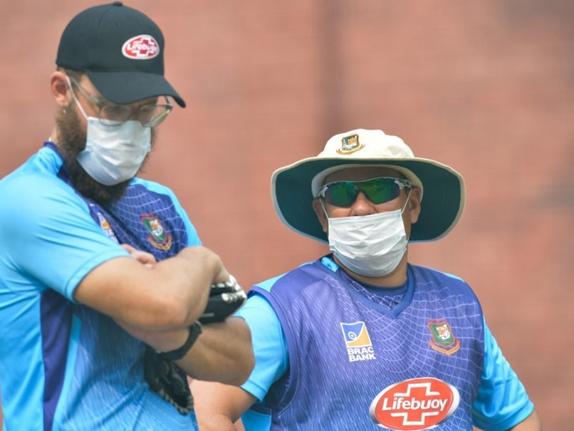 """No Ones Dying,"" Says Bangladesh Coach As Players Wear Masks During Training In Delhi"