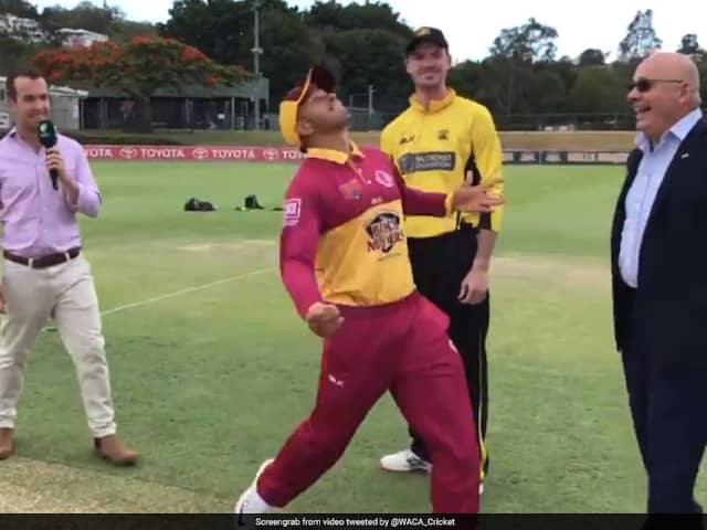 Usman Khawajas Animated Toss In Marsh Cup Final Leaves Twitter In Splits. Watch Video