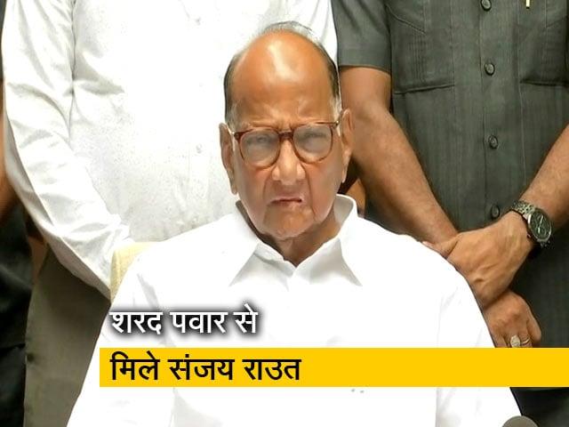 Videos : महाराष्ट्र की राजनीति पर हुई बात: संजय राउत